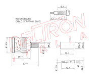BNC-04K-TGN - Deltron Italia
